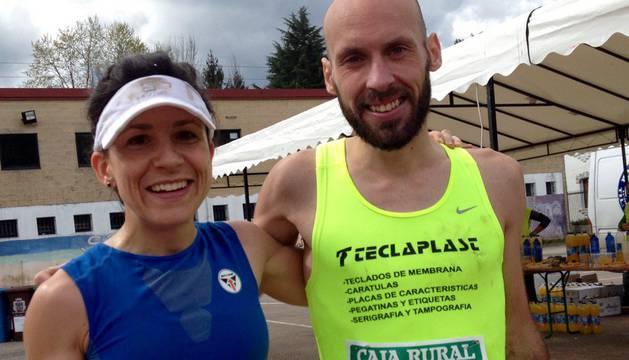 Laura Sola y Oier Ariznabarreta.