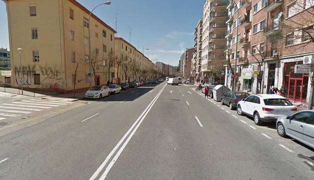 Paseo de la Estación, en Salamanca.