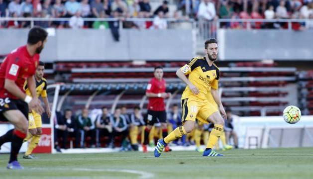 Roberto Torres, en Son Moix.