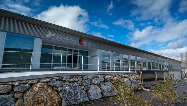 Imagen exterior del edificio de la escuela taller de Estella.