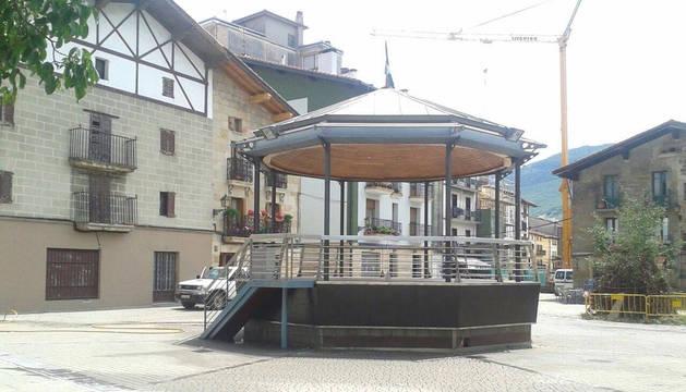 Plaza de los Fueros de Alsasua.