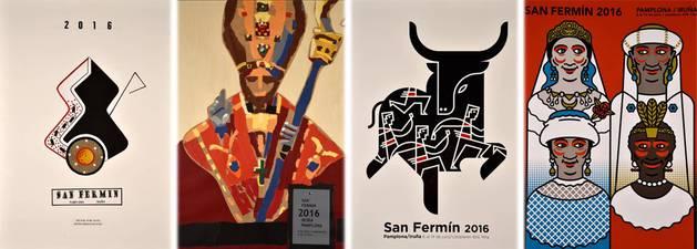 Cuatro carteles de San Fermín acaparan más del 77% de votos de los lectores