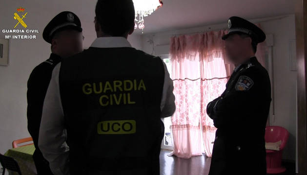 La Guardia Civil libera 29 mujeres chinas explotadas sexualmente