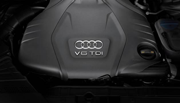 Motor del Audi A5 Coupe.