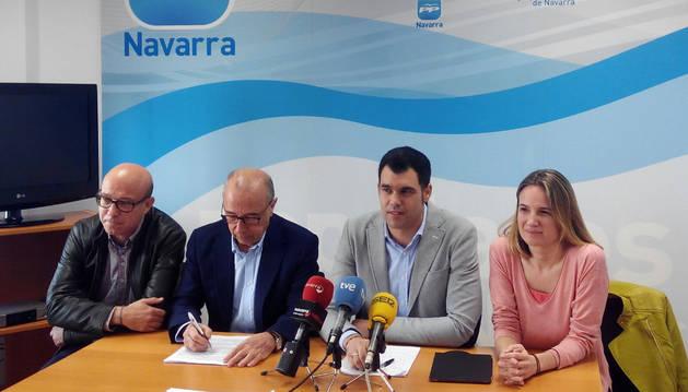 El PPN insiste en la necesidad de continuar con la segunda fase del Canal de Navarra