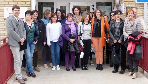 Representantes políticos visitaron Lodosa