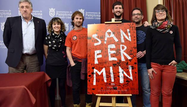 Sanmarrazkin, un cartel escolar como imagen de los Sanfermines