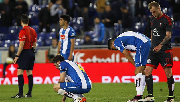 Empate que no contenta ni al Espanyol ni al Celta