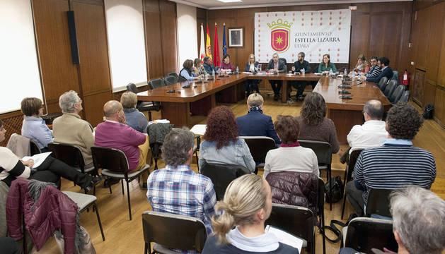 Laparra se reúne con entidades locales de Tierra Estella para potenciar su colaboración
