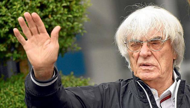 Bernie Ecclestone, en una imagen de archivo.