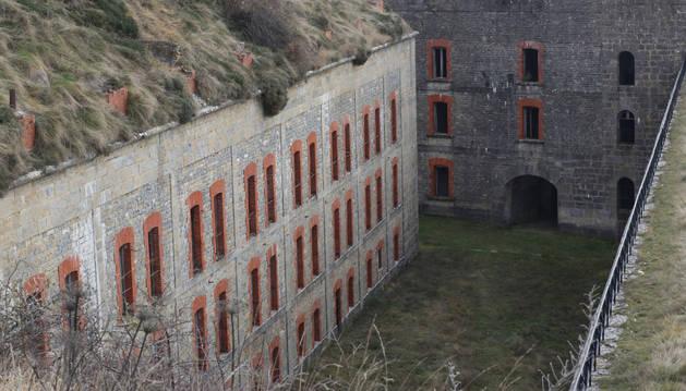 Fosos del Fuerte de San Cristóbal.