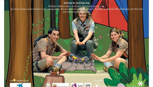 Llega a Navarra la II Edición de un musical bilingüe para niños de 3 a 10 años