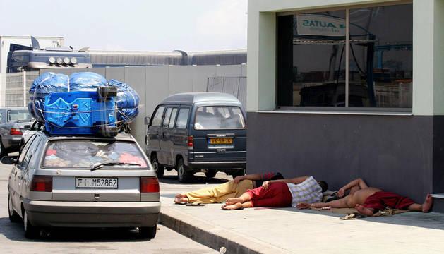 Cuarenta y cuatro detenidos por vender en Marruecos coches robados en España