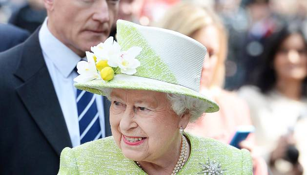 La reina Isabel II celebró este jueves su 90 cumpleaños