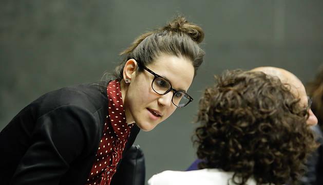 La parlamentaria de UPN Cristina Altuna.
