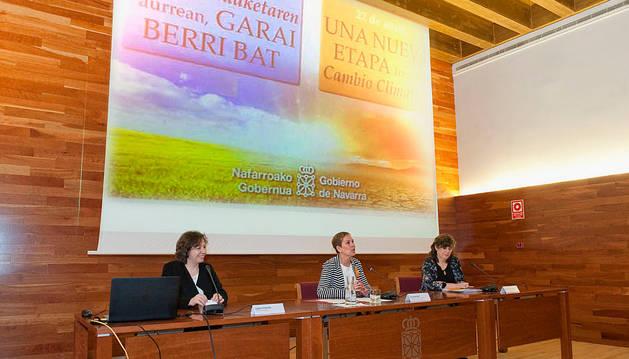 Expertos exponen los perjuicios del cambio climático para actuar desde Navarra