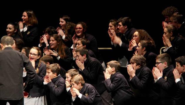 La Escolanía del Orfeón Pamplonés dará este sábado un concierto en Barasoain