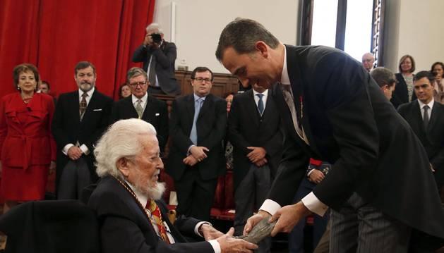 Entrega del Premio Cervantes