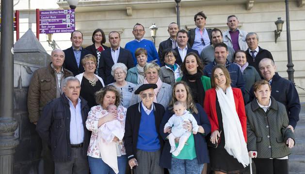 Manuel Pelarda Jiménez celebra su cumpleaños número 100