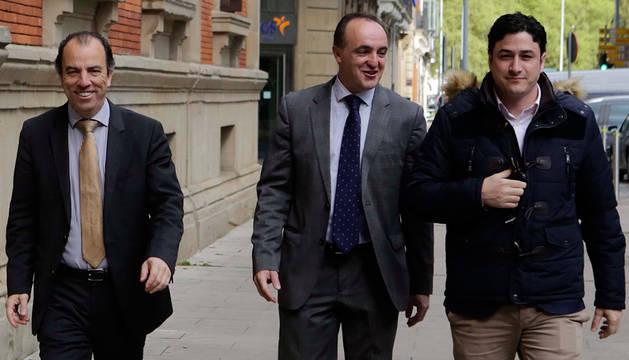 Adanero, Esparza y Arizcuren.
