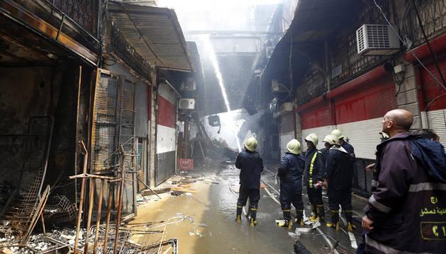 Al menos 23 muertos en bombardeos del régimen sirio cerca de Damasco y Alepo