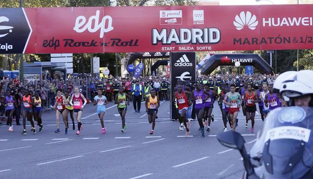 Maratón de Madrid 2016