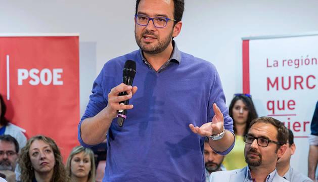El portavoz del Grupo Parlamentario Socialista, Antonio Hernando.