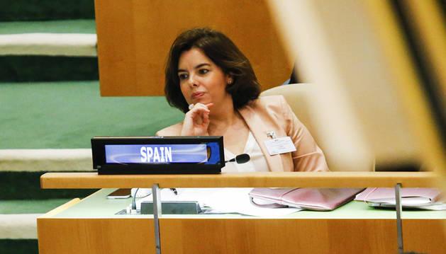 El PP se revuelve ante la posibilidad de sucesión de Sáenz de Santamaría
