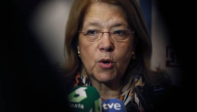La presidenta de la Comisión Nacional del Mercado de Valores (CNMV), Elvira Rodríguez.