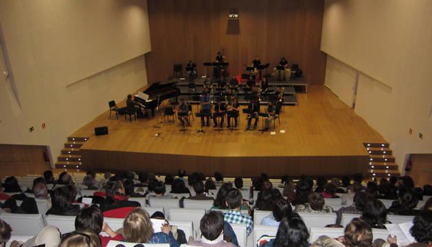 Concierto solidario de la Big Band Jazz del conservatorio.
