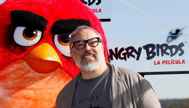 El cineasta Álex de la Iglesia, una de las voces en castellano de los 'Angry Birds'.