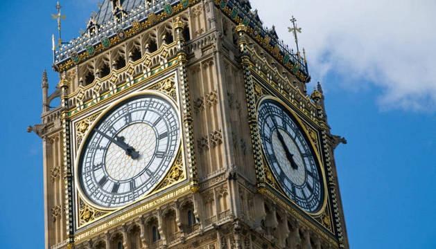 La torre del Big Ben, en Londres.