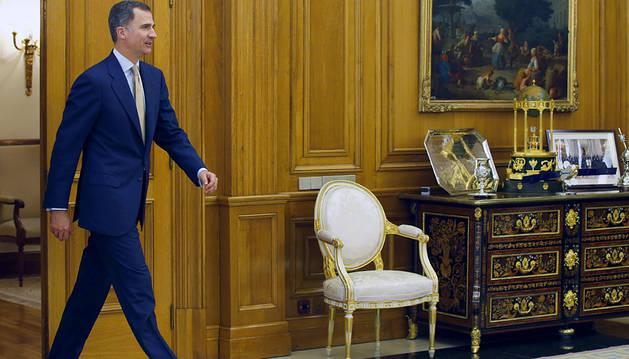 El Rey comunica a López que no propondrá a ningún candidato a la investidura