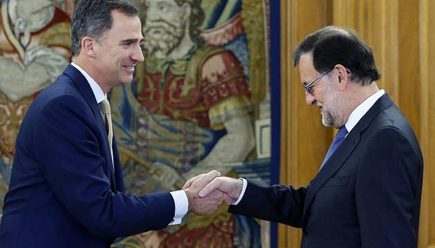 Rajoy repite al Rey que no tiene apoyos para formar Gobierno