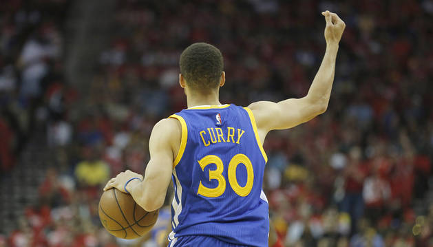 Curry, contra Houston.
