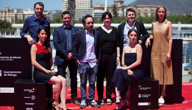 Presentación de 'Gernika' en el Festival de Málaga.