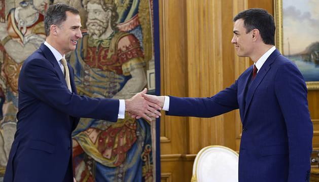 Pedro Sánchez traslada al Rey que no cuenta con apoyos para ser investido