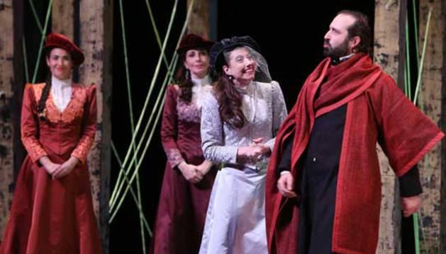Representación de la obra de Shakespeare 'Trabajos de amor perdidos'.