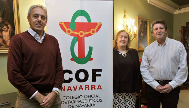 Izquierda a derecha: Raimon Pelach, Marta Galipienzo y Aurelio Barricarte.