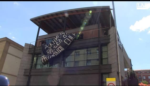CEN acusa a LAB de asaltar su sede y exige una disculpa para dialogar