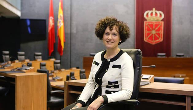 Asunción Olaechea, nueva presidenta de la Cámara de Comptos.