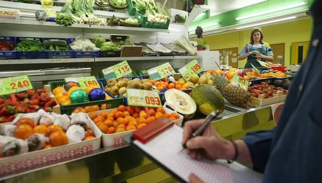 Establecimiento de fruta y verdura.