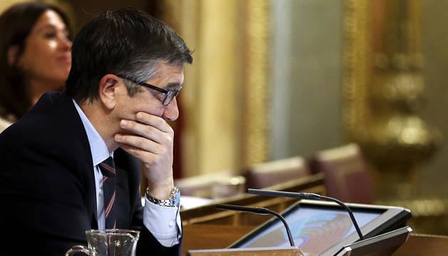 López, en el Congreso este jueves.
