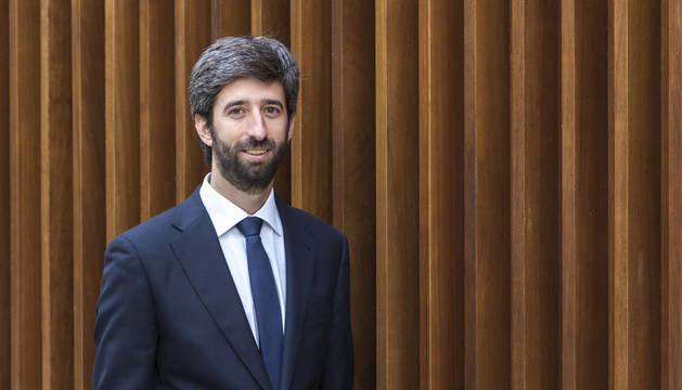 Miguel Larraza, director territorial de Elkargi en Navarra