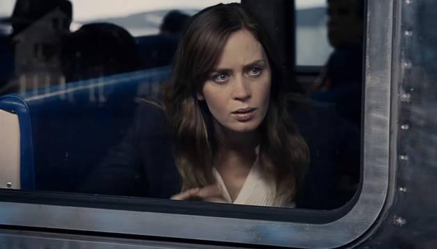 Fotograma de 'La chica del tren'.