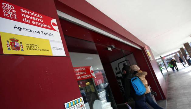 Imagen de la oficina de empleo de Tudela.