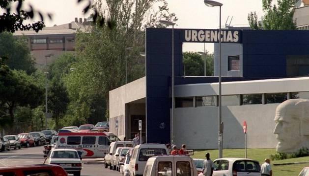 Entrada de Urgencias del Hospital Ramón y Cajal.