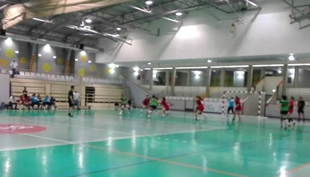 Imagen del partido contra el Villaverde.