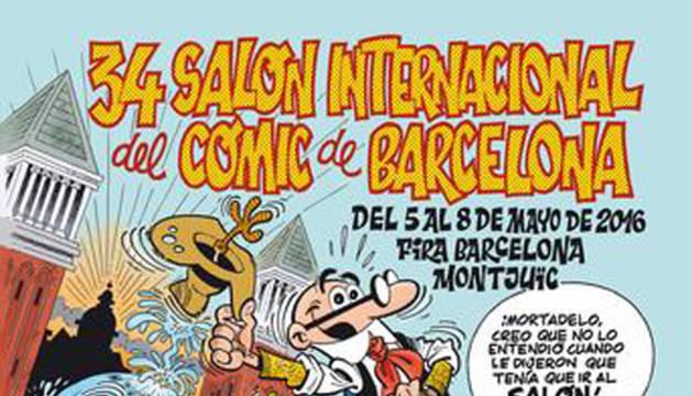 El Salón Internacional del Cómic de Barcelona tendrá lugar del 5 al 8 de mayo.
