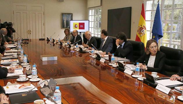 Reunión del Consejo de Ministros de este viernes.